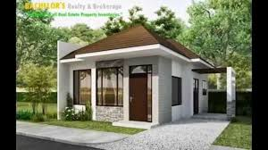 one home designs 2 bedroom house designs philippines 1 storey single detached house