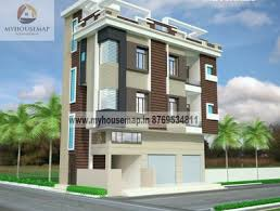 Row House Front Elevation - small house front elevation design front elevation design house
