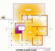 home design engineer best 2d elevation and floor plan of 2633 sqfeet kerala home design