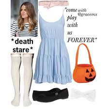 the shining twin halloween costume with grace polyvore