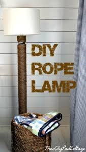 Nautical Floor Lamps Captivating Diy Floor Lamp 18 Diy Floor Lamps To Make Tip Junkie