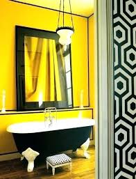 yellow bathroom decorating ideas black and yellow bathroom decor yellow and white bathroom yellow