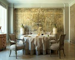 Accent Mural Walls - Dining room mural