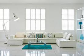 Tiled Living Room Floor Ideas Cool Masculine Living Room Decoration Ideas On White Ceramic Tile