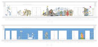 google office corridors illustrations eitay