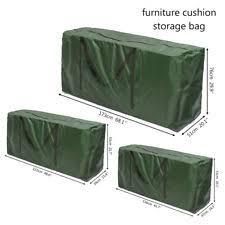 Patio Cushion Storage Bags Garden Cushion Storage Ebay
