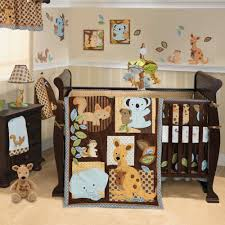 Nursery Decoration Sets Bedroom Enchanting Baby Animal Themed Baby Boy Room In Beige
