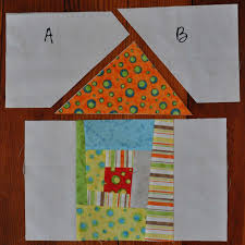 the noble wife wonky house quilt block tutorial