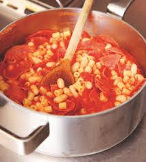 cuisine tv nigella nigella lawson s small pasta with salami it better family