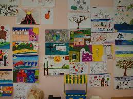 fresque carrelage mural fresque extérieur 20m carrelage ingélif decor école primaire