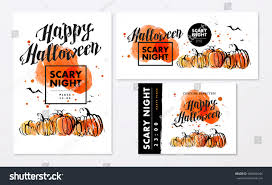 halloween candy background drawn collection watercolor artistic hand drawn halloween stock