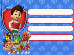 paw patrol birthday party free printable invitations is it for