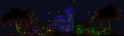 Halloween Event Terraria Mobile by A Halloween Build Terraria