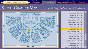 us senate floor plan do congressmen and senators have an assigned seat in the house