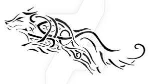 celtic wolf by relsyin on deviantart