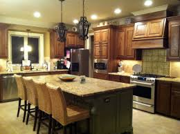 Granite Island Kitchen Delighful Kitchen Island Height Standard Measurements Light