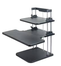 Adjustable Desk Standing Sitting by Computer Standing Desks Lifter Sit Stand Desk Two Level Height