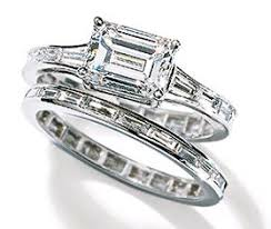 horizontal emerald cut engagement ring 10 best rings images on emerald cut diamonds