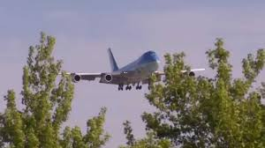 air force one arrives in portland youtube