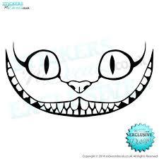 drawn feline cheshire cat pencil color drawn feline