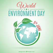 world environment day background vector free