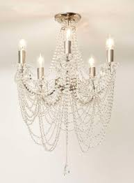 chandeliers bhs chrome hebe flush chandelier bhs house ideas bhs