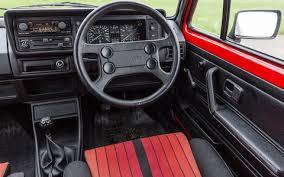 Golf Gti Mk2 Interior Eighties Hatch Battle Vw Golf Gti Mk1 Vs Peugeot 205 Gti