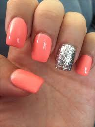 the 25 best coral acrylic nails ideas on pinterest nails for