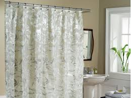 Shower Curtain Vinyl Simple Vinyl Shower Curtain Decorating Ideas