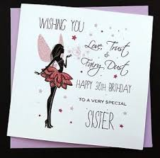handmade birthday card daughter sister niece auntie friend 16th