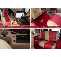 Jeep Wrangler Leather Interior 1997 2006 Jeep Wrangler Custom Leather Upholstery