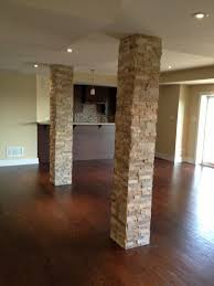 home theater columns basement pole column covers basement ideas basement