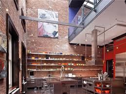 loft kitchen ideas mansion loft kitchen space interior design ideas