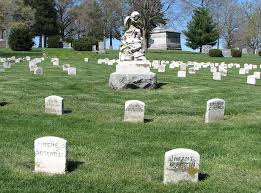 headstones for babies in cold blood burials at mount muncie cemetery