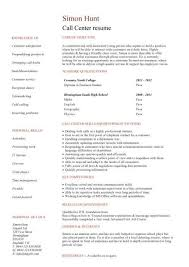 resume template entry level call center resume exles inspiration student entry level call