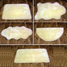 Washable Sheepskin Rug Faux Fur Sheepskin Rug Ebay