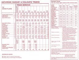 Metro Time Table The Harlem Line And The Color Blue U2013 I Ride The Harlem Line U2026