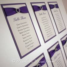 ribbon with names ribbon heart table plan with 3d and groom names