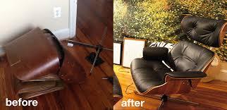 Eames Leather Lounge Chair Plycraft Eames Rebuild Album On Imgur