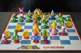 buy chess set super mario chess set