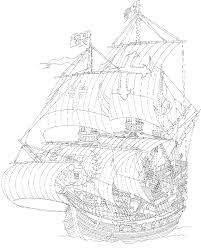 viking ship coloring page 9 coloring pages of sailing ships on kids n fun co uk on kids n