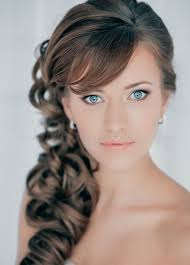 side ponytail hairstyle for weddings side pony wedding hairstyles