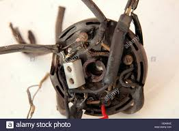 dangerous uk old housing domestic rubber coated wiring with