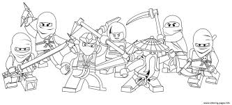 characters of ninjago secc8 coloring pages printable