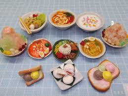 cuisine miniature kin miniature workshop handmade clay food by kin quek