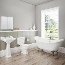 burlington traditional hampton bath shower and basin suite at darwin traditional bathroom suite