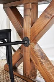 10 ft farmhouse table diy dining room table legs diy ideas