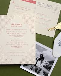 Direction Cards For Wedding Invitations Retro Coral And Olive Palm Springs Wedding Invitations