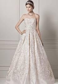 where to buy oleg cassini wedding dresses strapless organza gown with lazer cut design oleg cassini