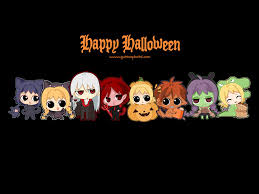 halloween anime background image gallery of cute happy halloween background